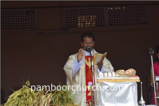 Holy Cross Church, Pamboor - Nativity Of Mary Feast Celebration at