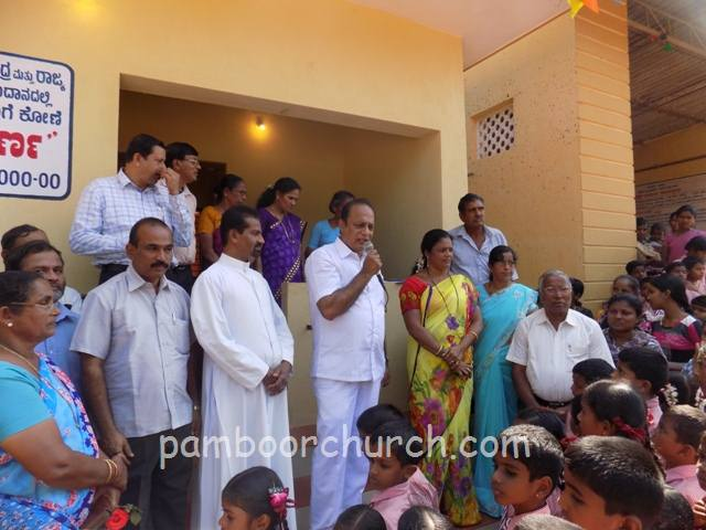 Holy Cross Church, Pamboor - Inauguration of 'Annapoorna