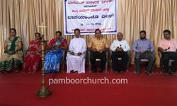 Fathers' Day was celebrated at Holy Cross Church Pamboor